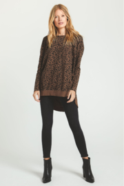Zsupply The Leopard Weekender - Back cropped