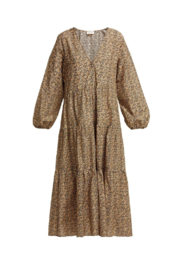 Matteau The Long Sleeve Tiered Dress - Product Mini Image
