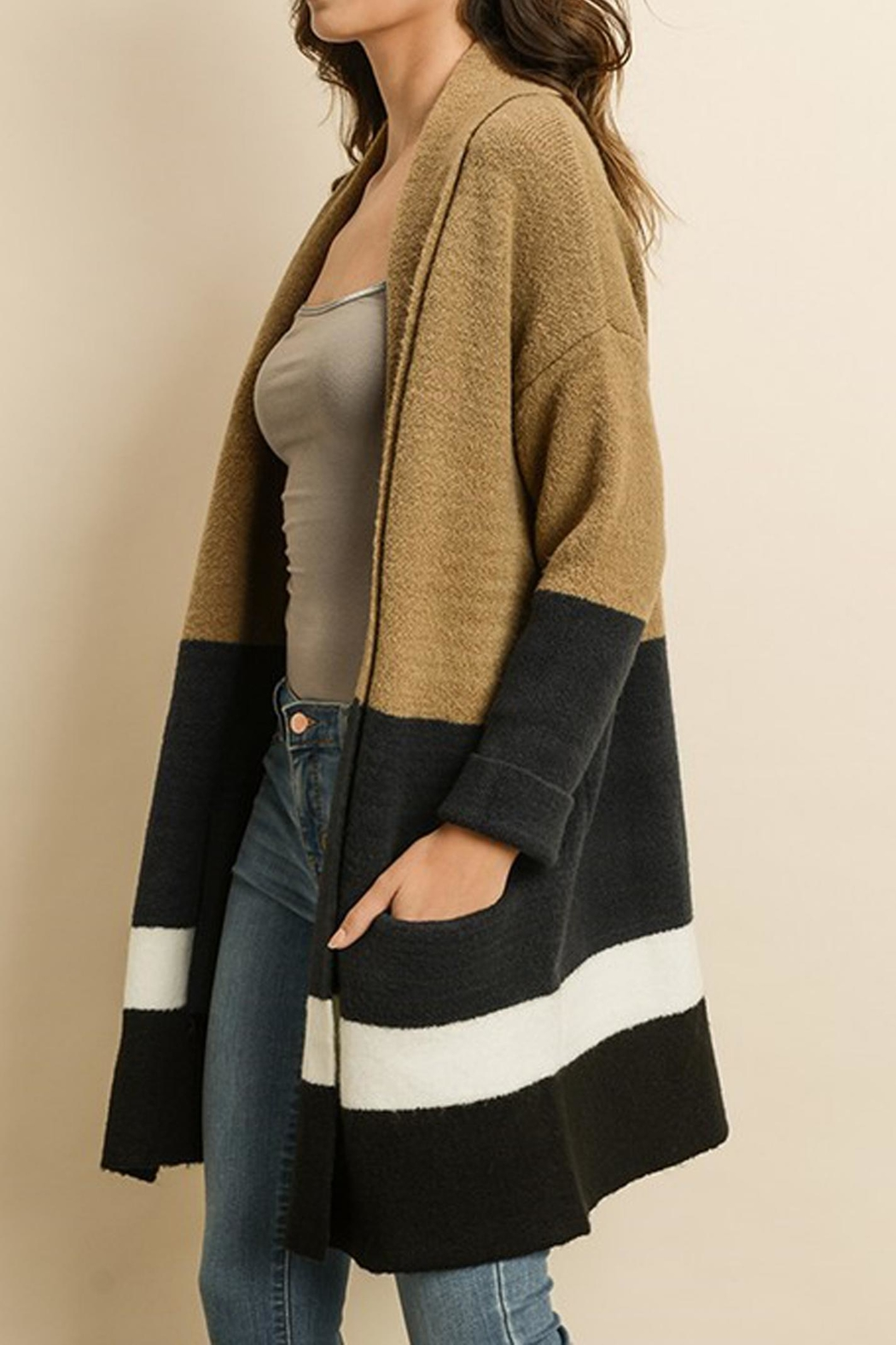 dress forum The Magalie Cardigan - Side Cropped Image