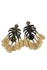 Fabulina Designs The Maldives Earrings - Front cropped