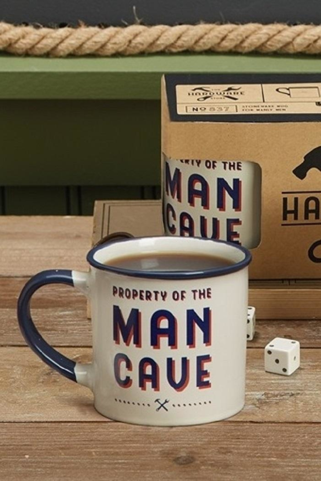 Two's Company The Manly Mug - Front Cropped Image