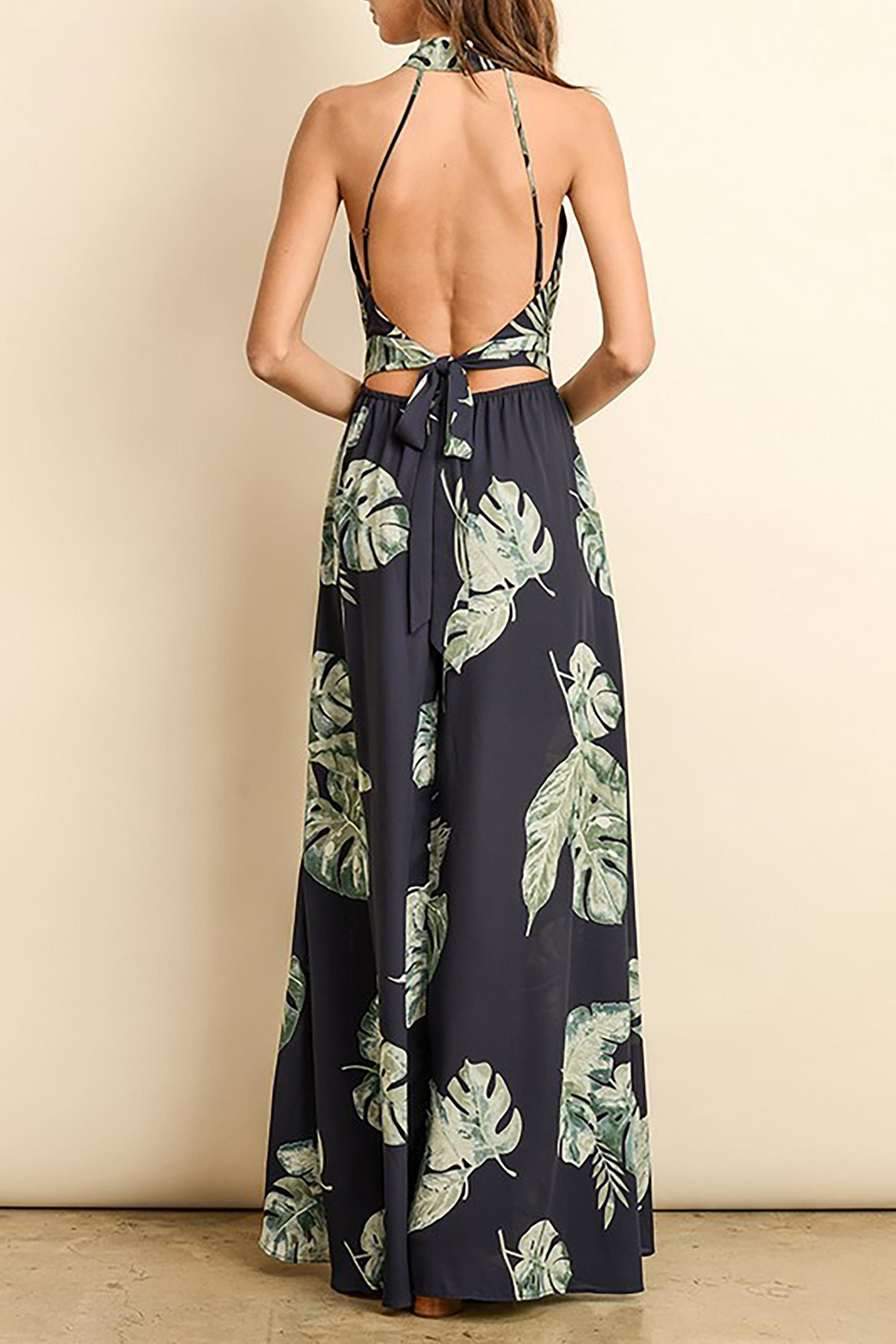 dress forum The Marcie Maxi - Back Cropped Image