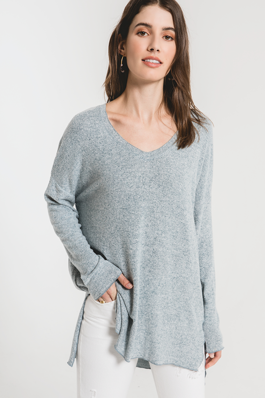 z supply THe Marled Sweater - Main Image