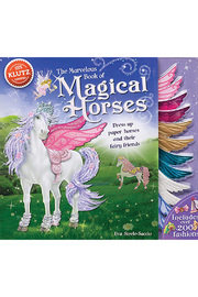 Klutz The Marvelous Book of Magical Horses - Product Mini Image
