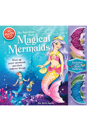 Klutz The Marvelous Book of Magical Mermaids - Front cropped