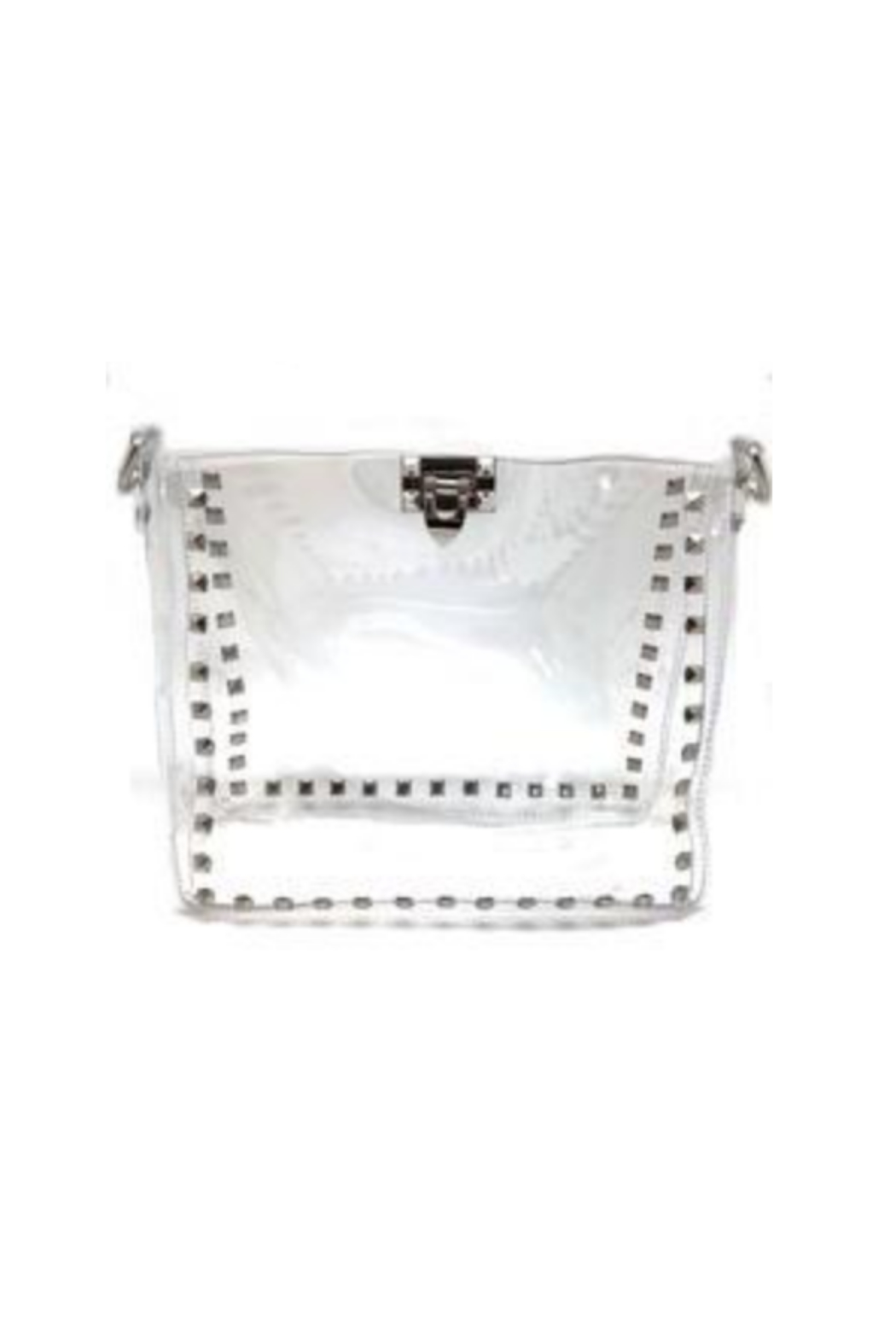 be clear handbags the maxwell - Front Cropped Image