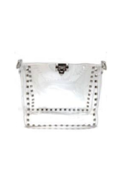 be clear handbags the maxwell - Front cropped