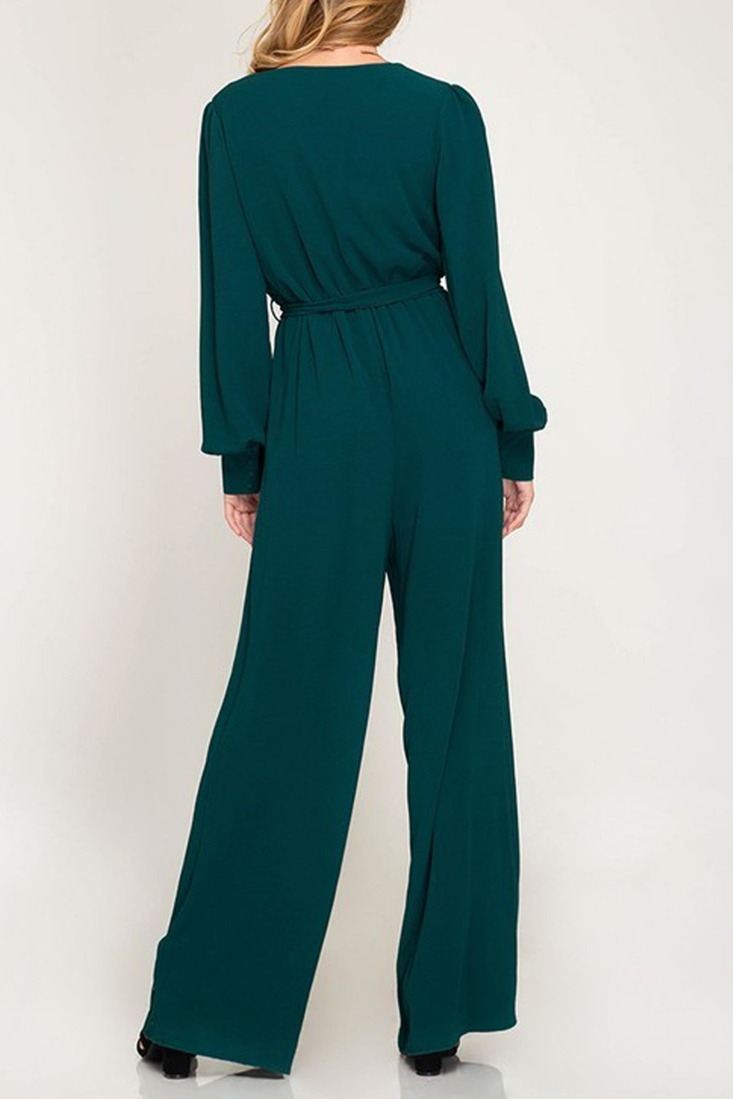 She + Sky The Melanie Jumpsuit - Side Cropped Image
