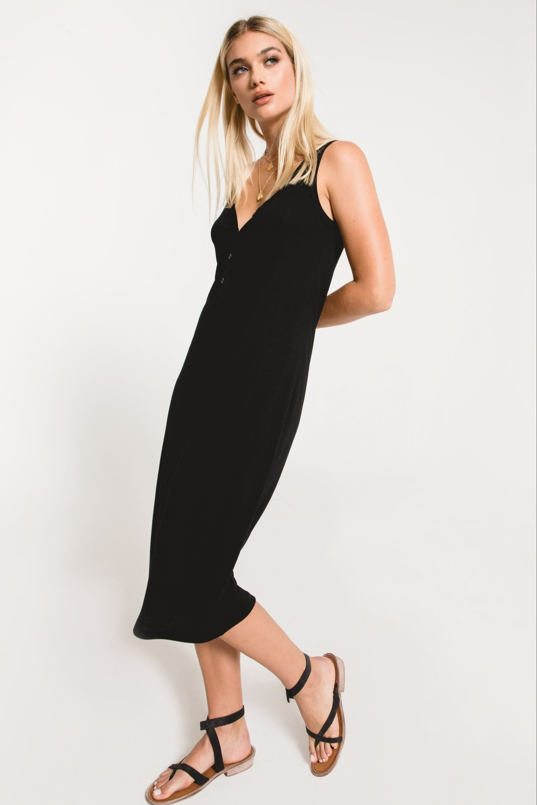 z supply The Meridian Dress - Back Cropped Image
