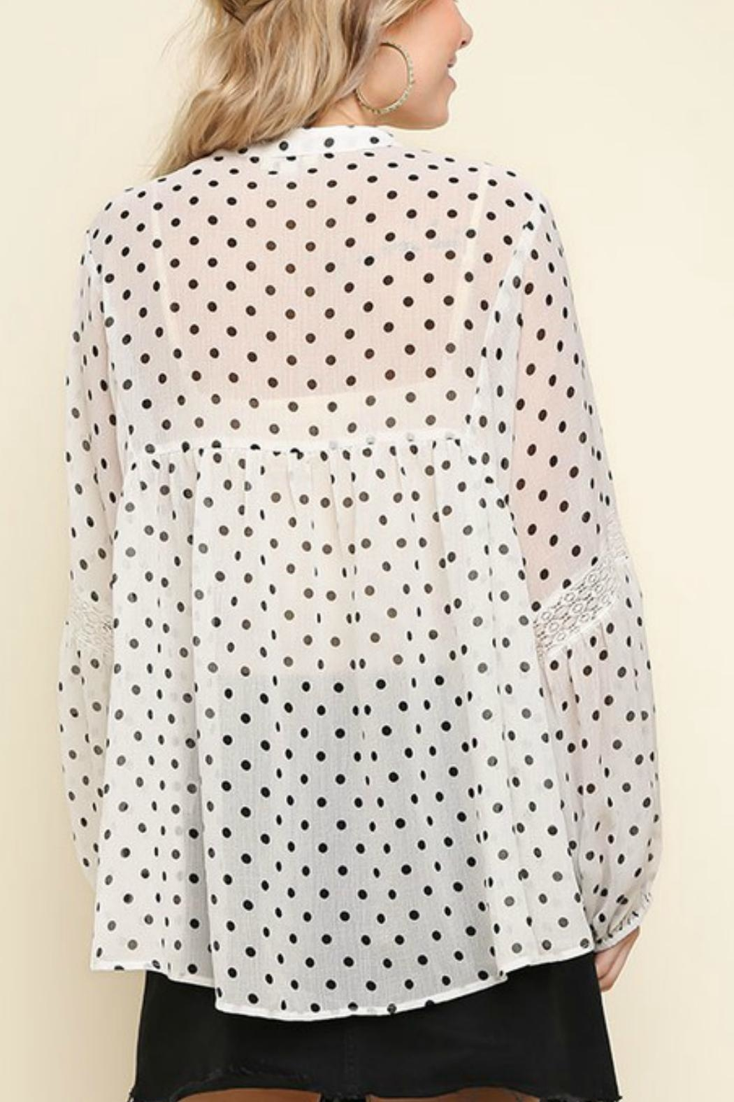Umgee USA The Michelle Blouse - Side Cropped Image