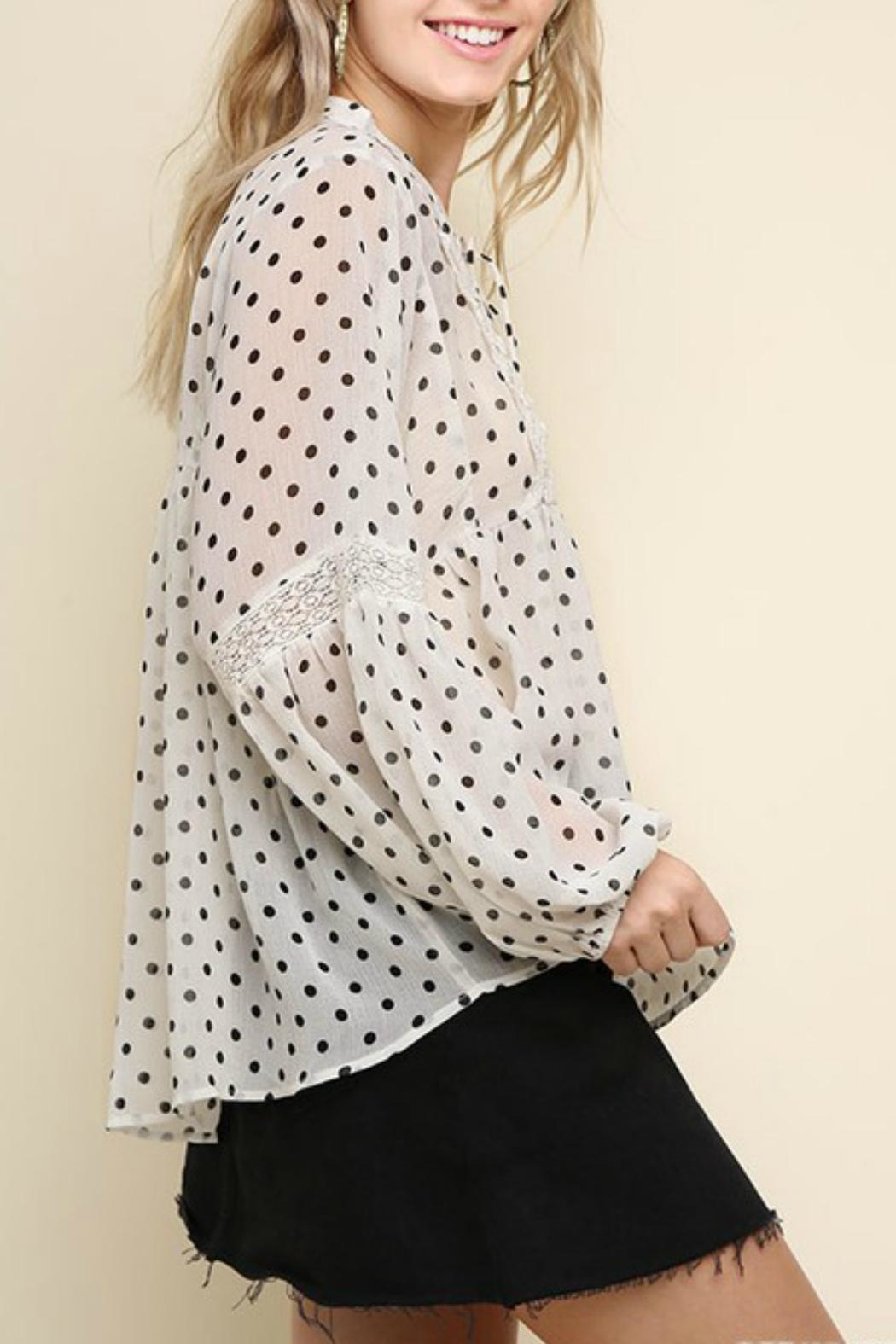 Umgee USA The Michelle Blouse - Front Full Image
