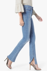 Joe's Jeans The Microflare Slit Raw Hem in Lorlai - Side cropped