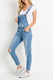 C'Est Toi The Mindy Overalls - Front cropped