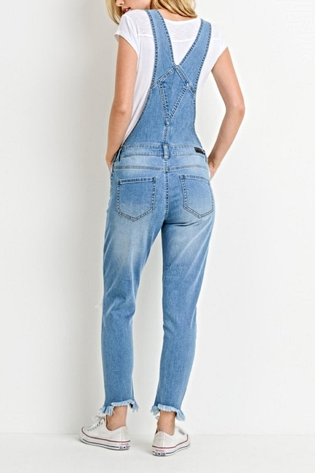 C'Est Toi The Mindy Overalls - Front Full Image