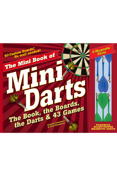 Workman Publishing The Mini Book of Mini Darts: The Book, the Boards, the Darts & 43 Games - Alternate List Image