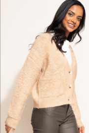 Pink Martini The Minnie Cardigan - Front full body
