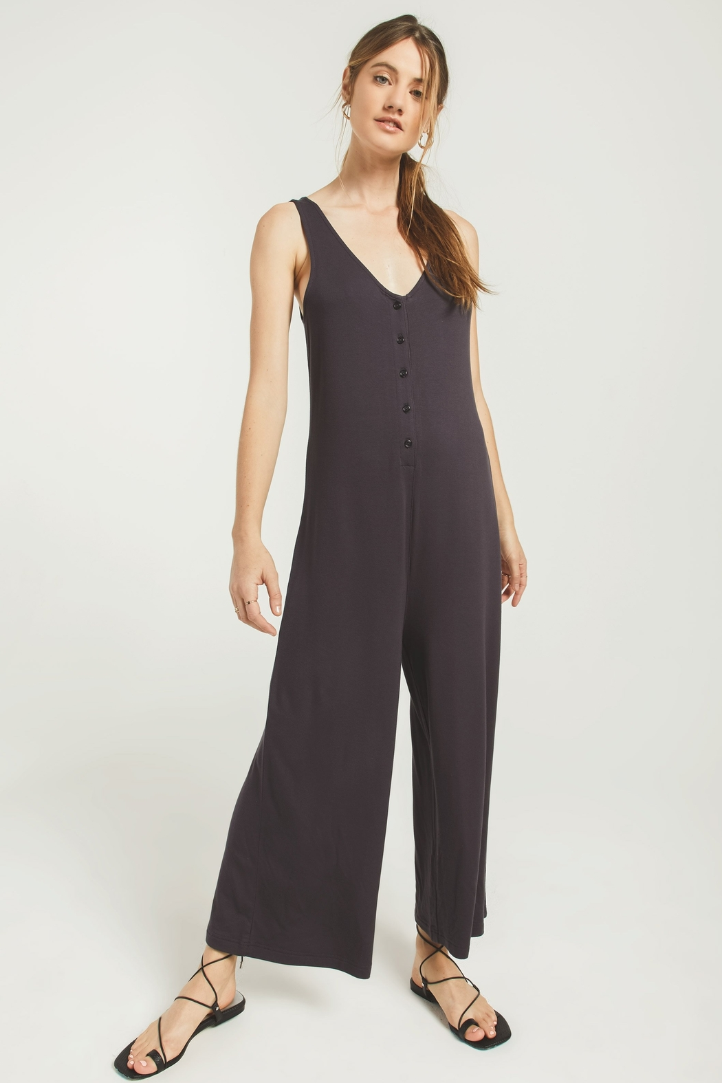 Z Supply  The Mojave Jumpsuit - Front Cropped Image