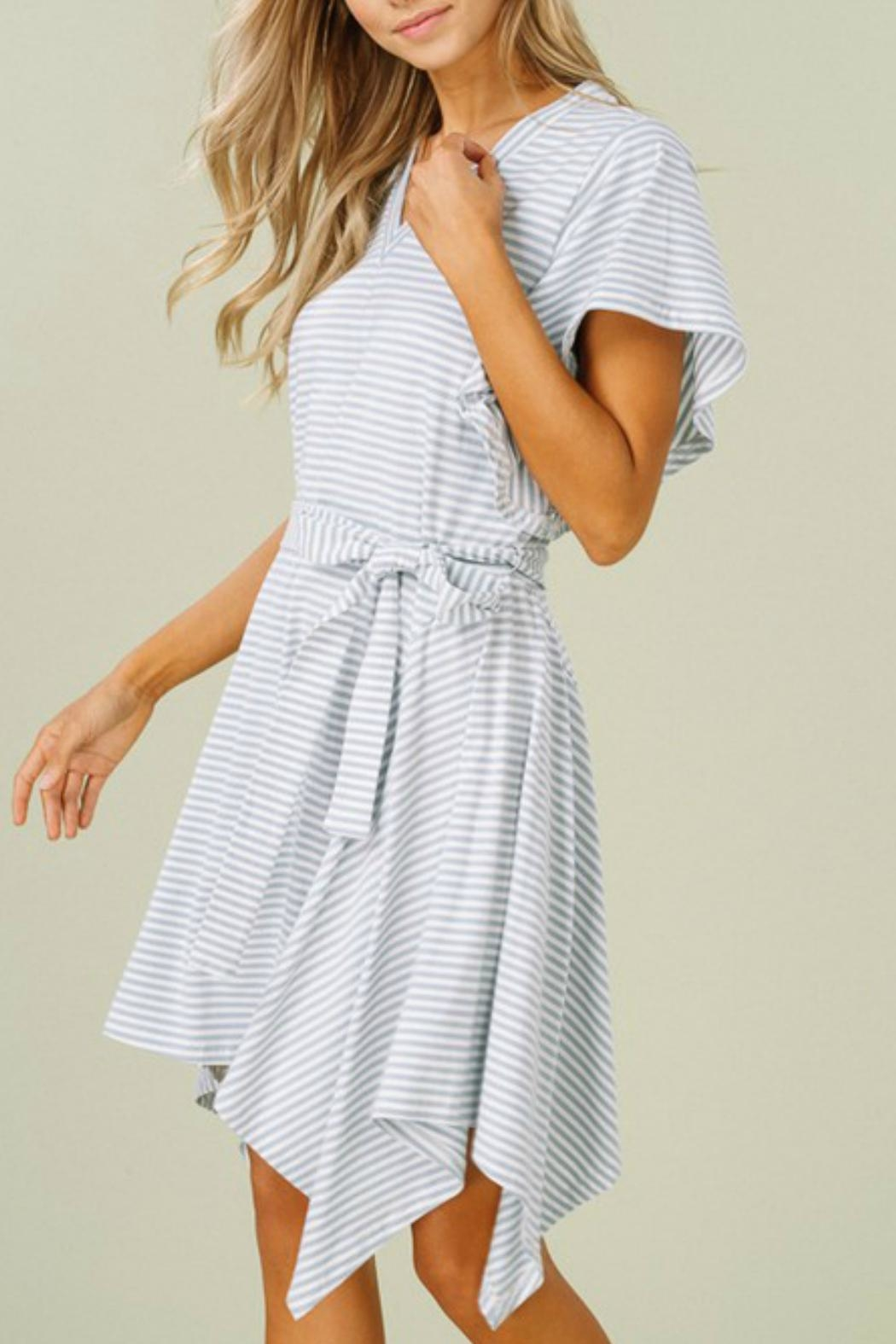 Listicle The Monica Dress - Front Full Image