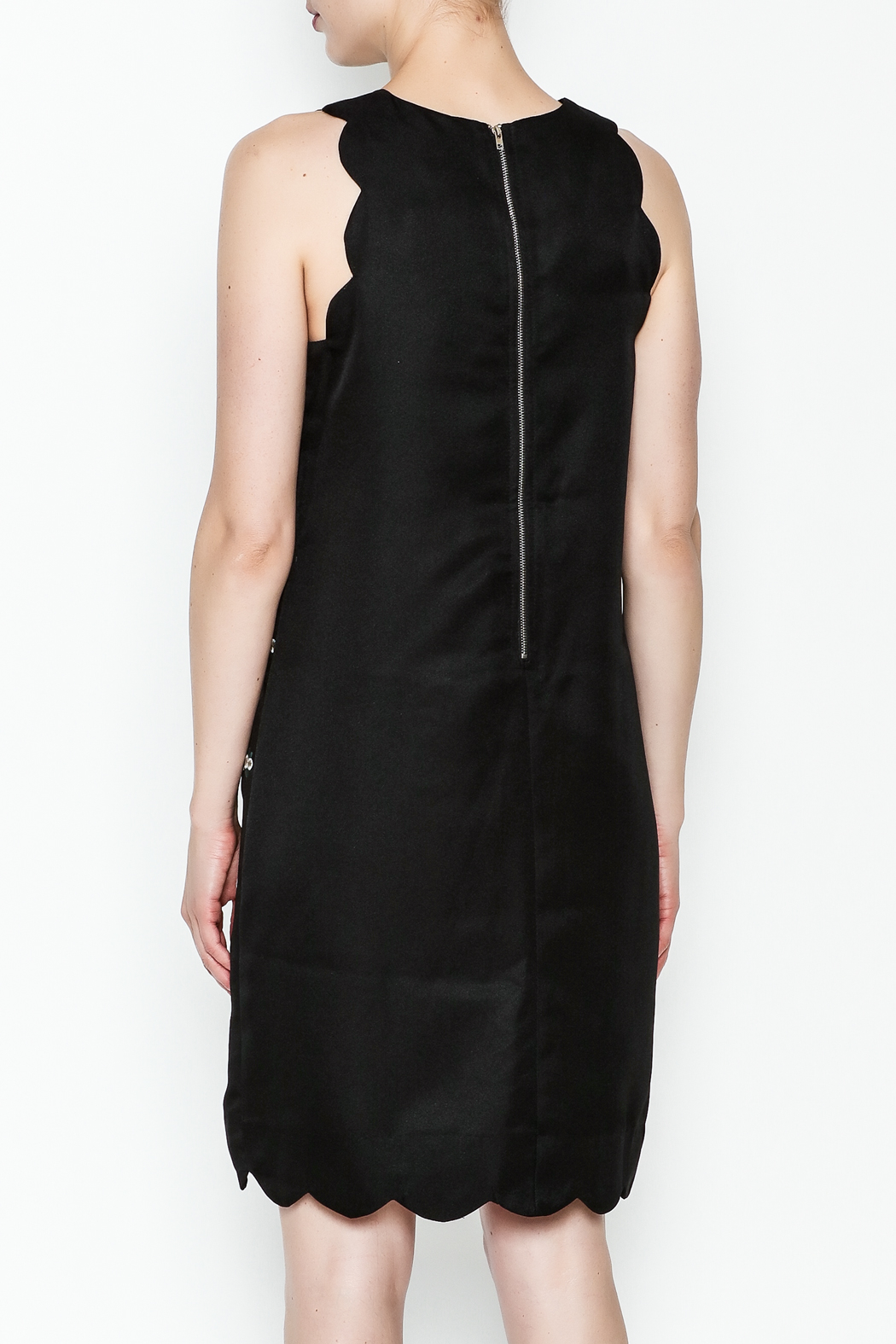 the moon Alene Work Dress - Back Cropped Image
