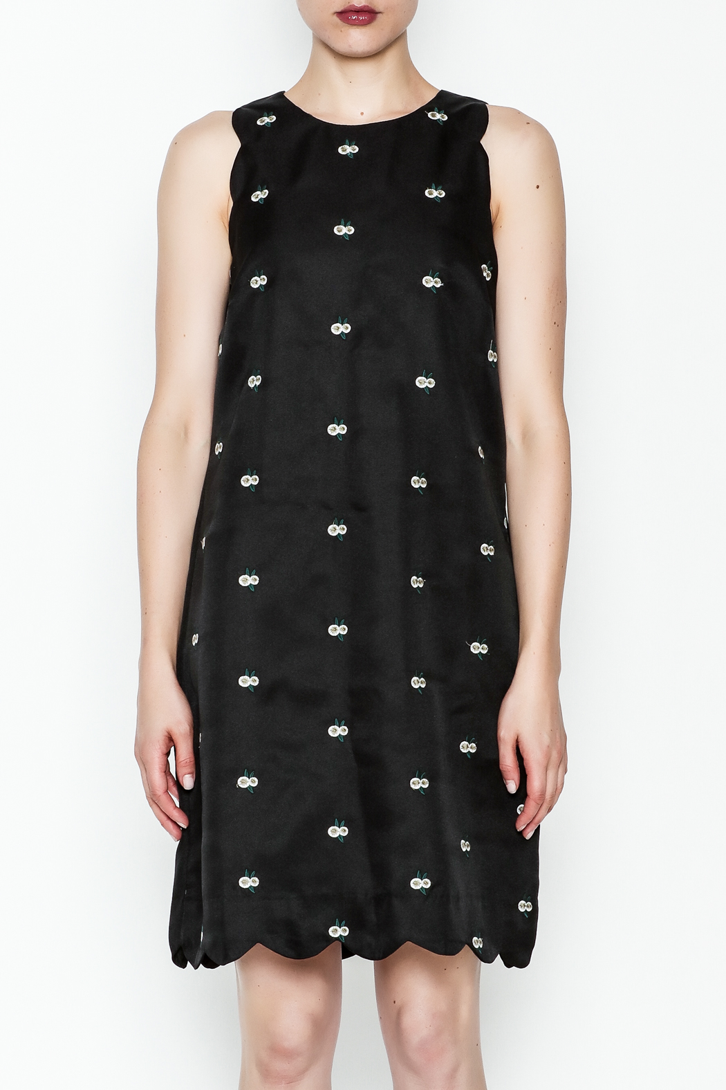 the moon Alene Work Dress - Front Full Image
