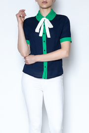 the moon Collared Blouse - Product Mini Image
