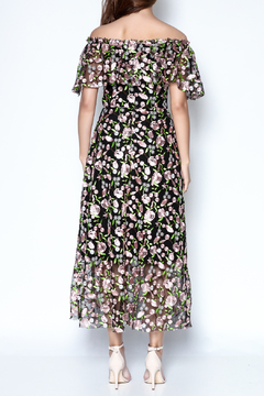 the moon Embroidered Dress - Alternate List Image