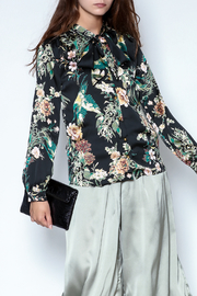 the moon Floral Blouse - Product Mini Image