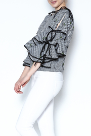 the moon Grid Blouse - Product Mini Image