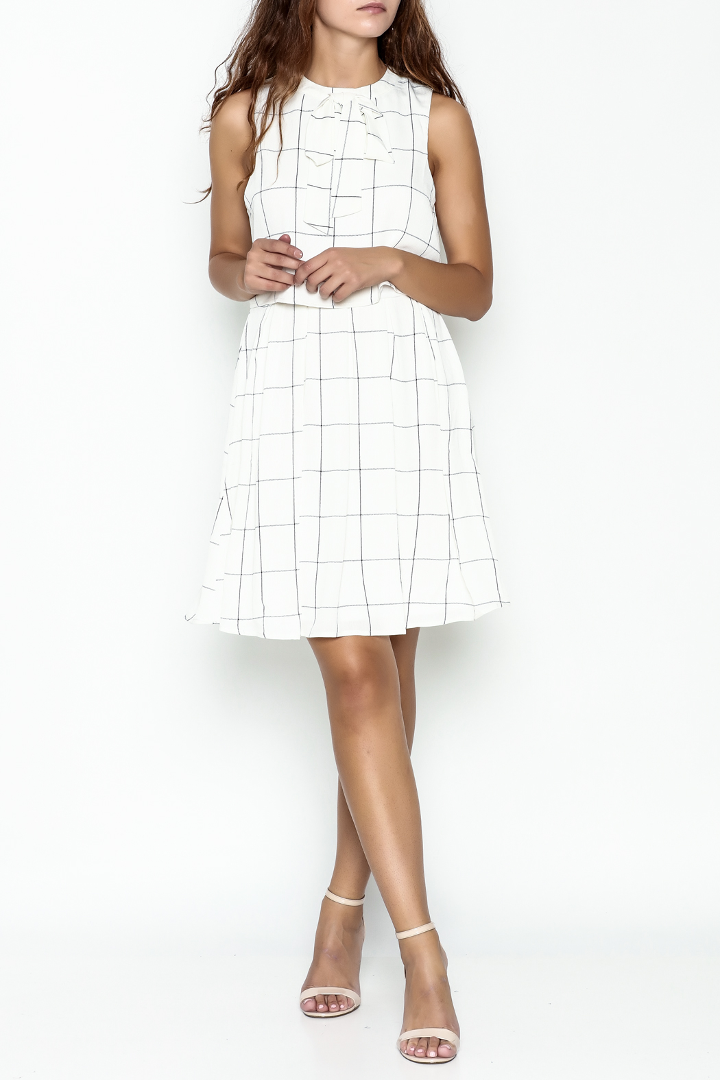 the moon Mad Men Dress - Side Cropped Image