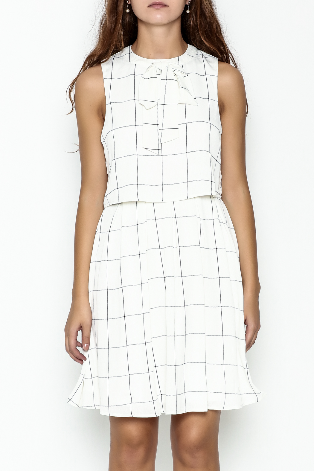 the moon Mad Men Dress - Front Full Image