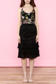 the moon Ruffle Mesh Skirt - Other