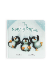 Jellycat The Naughty Penguins Book - Product Mini Image