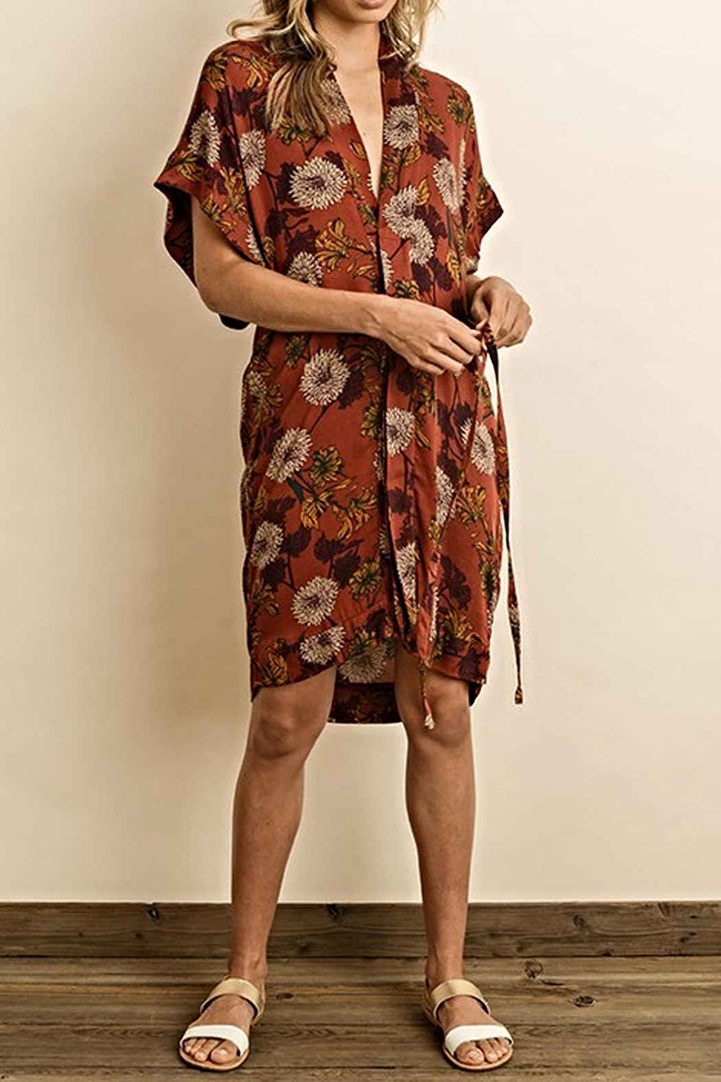 dress forum The Nell Wrap - Front Full Image