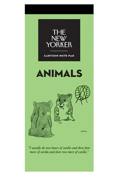Nelson Line The New Yorker Animals Notepad - Alternate List Image