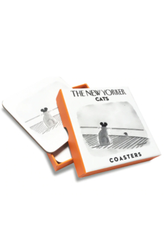 Nelson Line The New Yorker Cats Coasters - Alternate List Image