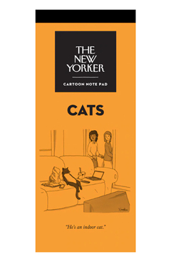 Nelson Line The New Yorker Cats Notepad - Alternate List Image