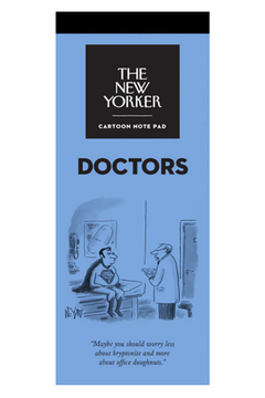 Nelson Line The New Yorker Doctors Notepad - Alternate List Image