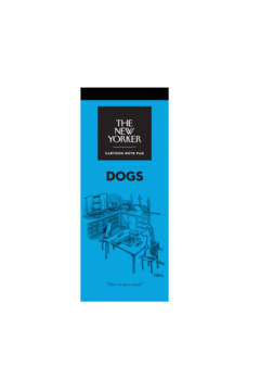 Nelson Line The New Yorker Dogs Notepad - Alternate List Image