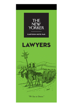Nelson Line The New Yorker Lawyers Notepad - Alternate List Image