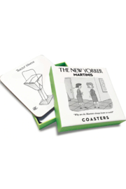 Nelson Line The New Yorker Martinis Coaster Set - Product Mini Image