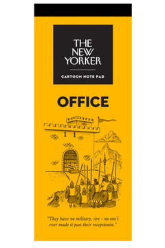 Nelson Line The New Yorker Office Notepad - Alternate List Image
