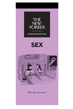 Nelson Line The New Yorker Sex Notepad - Alternate List Image