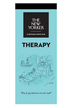 Nelson Line The New Yorker Therapy Notepad - Alternate List Image