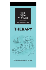 Nelson Line The New Yorker Therapy Notepad - Product Mini Image