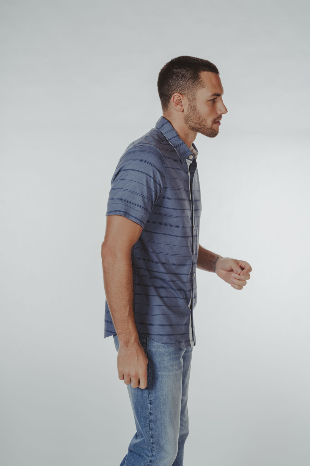 The Normal Brand Buttondown Shirt - Front Full Image