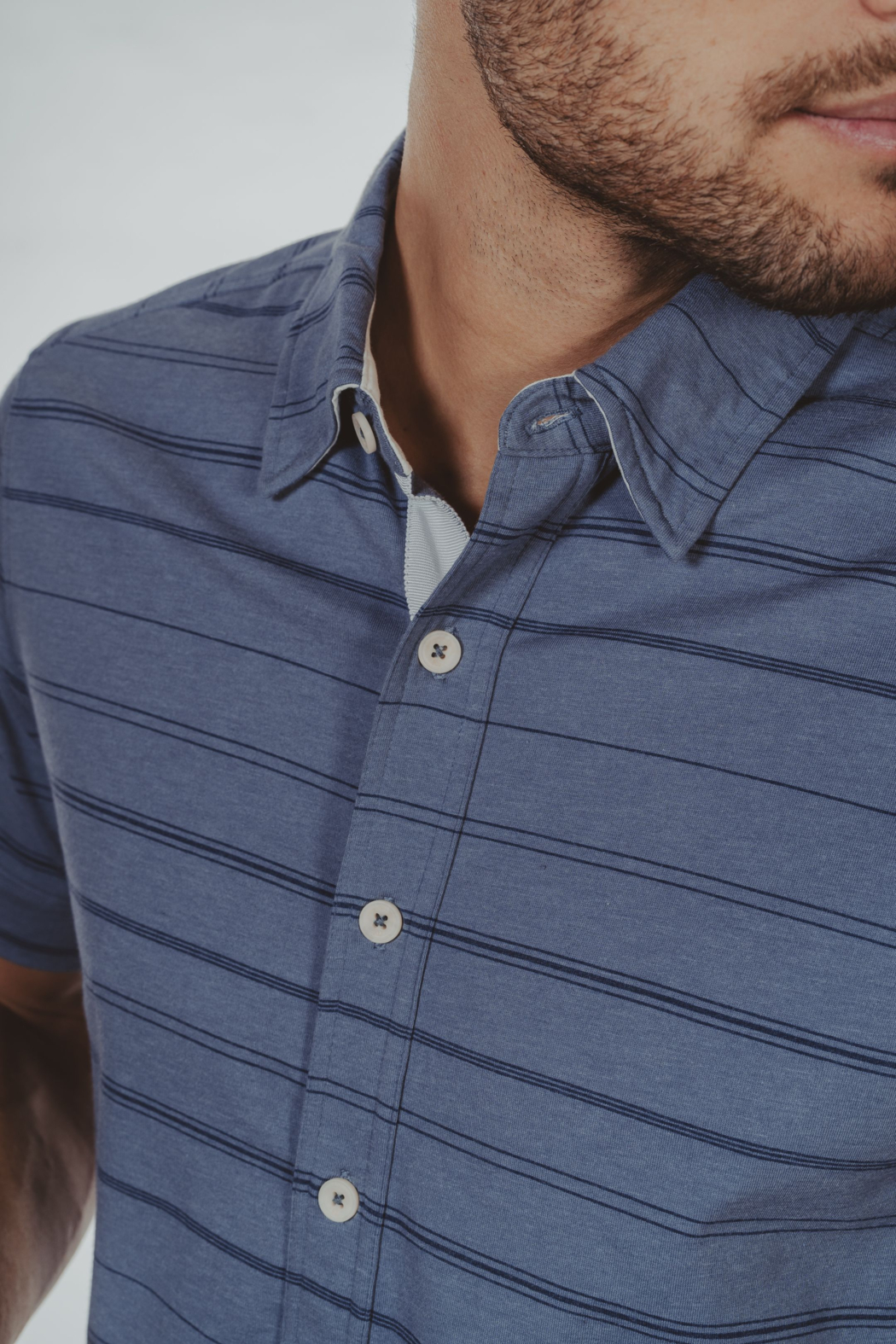 The Normal Brand Buttondown Shirt - Back Cropped Image