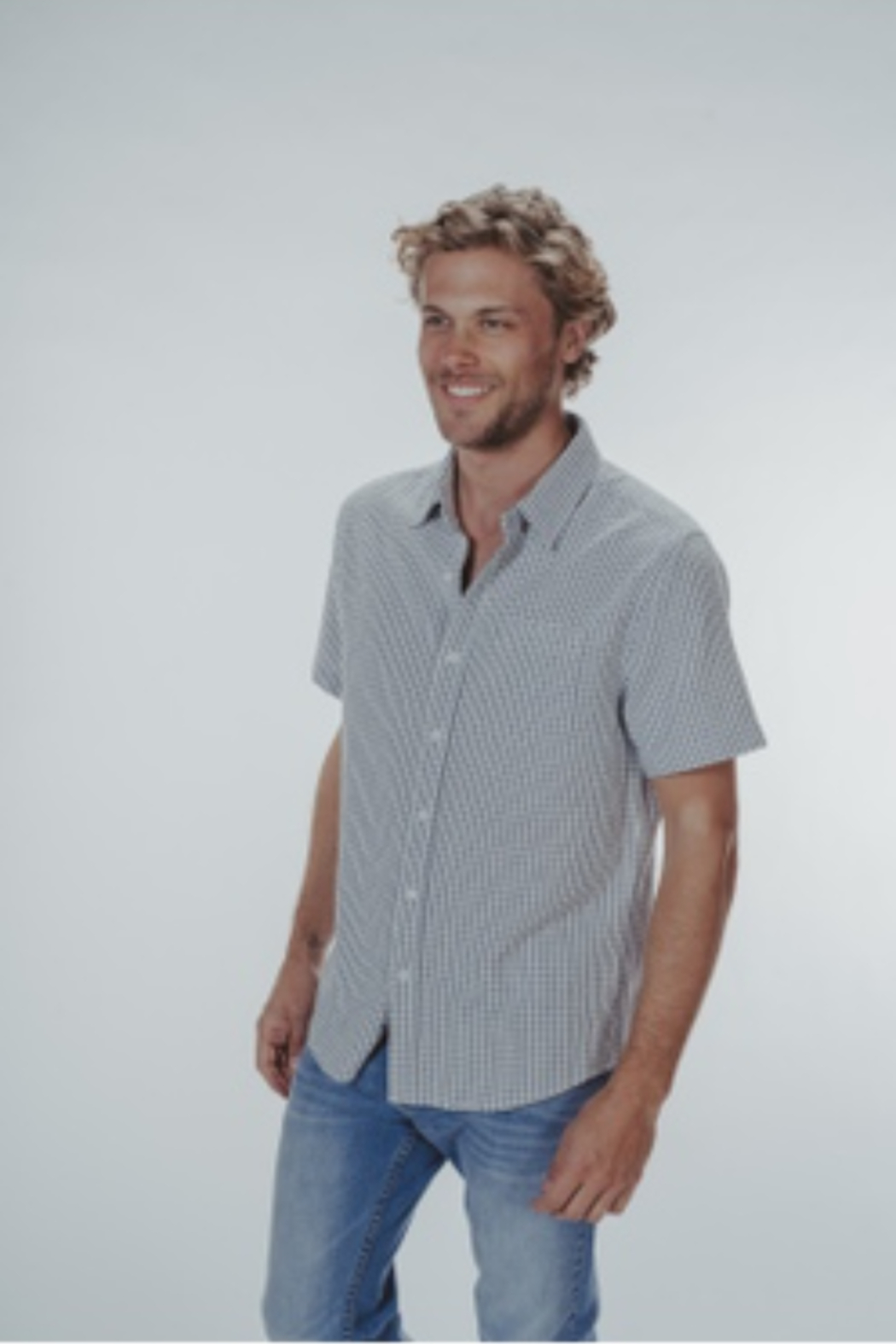 The Normal Brand Freshwater Shirt - Front Full Image