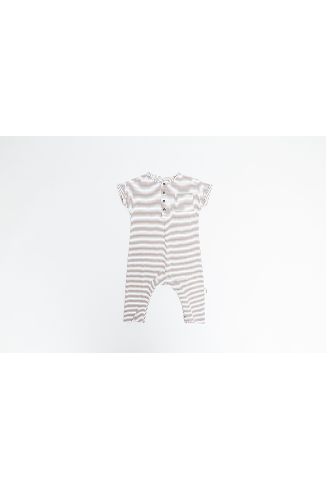 Greige The O.G. Bamboo Romper - Main Image
