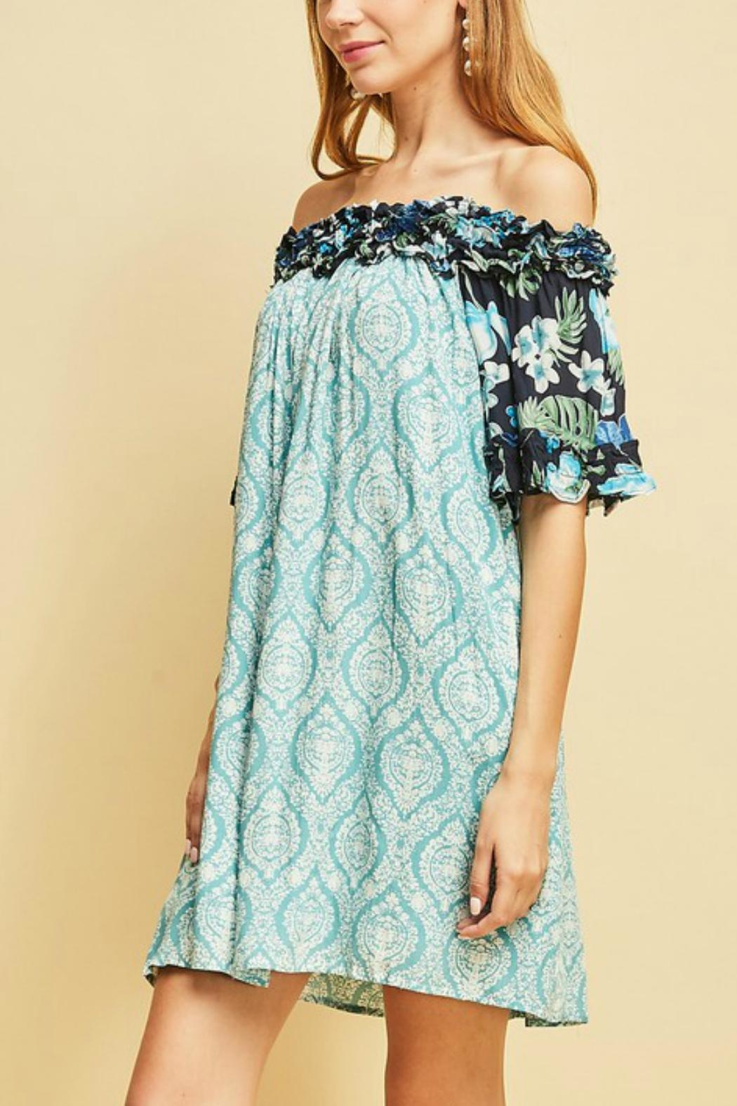 Entro The Ocean Dress - Side Cropped Image