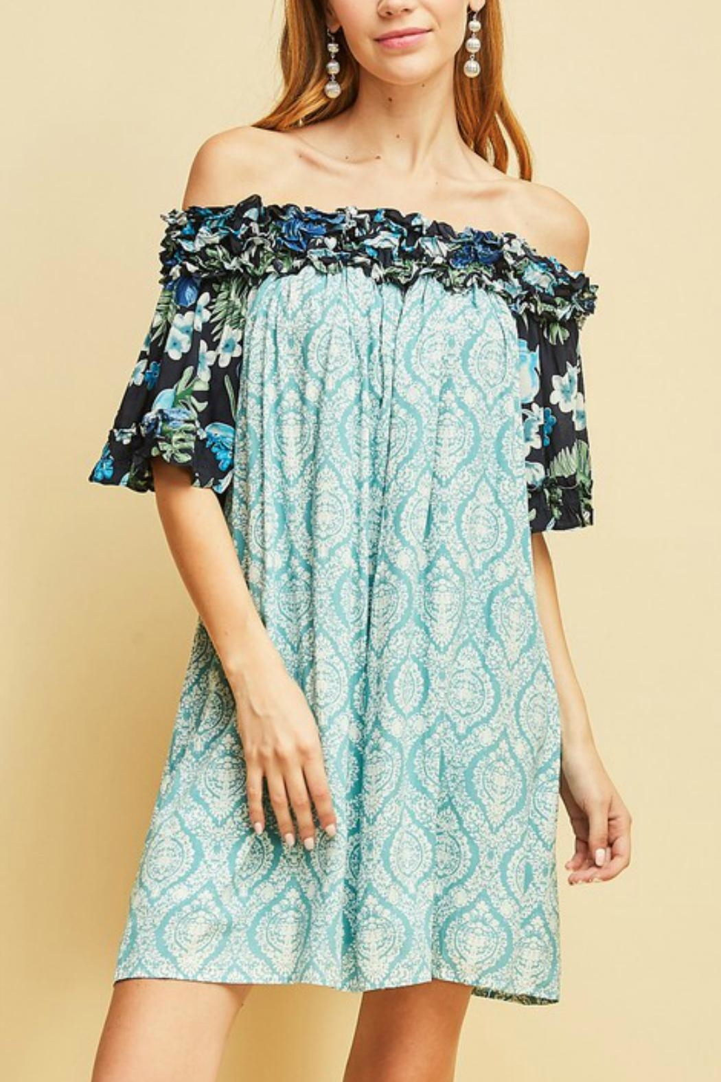 Entro The Ocean Dress - Front Full Image